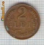 244 Moneda 2 LEI 1947 -starea care se vede -ceva mai buna decat scanarea
