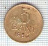 249 Moneda 5 BANI 1954 -starea care se vede -ceva mai buna decat scanarea