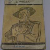 VERSURI SI PROZA AL.MACEDONSKI - Roman, Anul publicarii: 1969