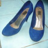 PANTOFI STRADIVARIUS - Pantof dama, Albastru, 37 1/3