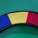 Emblema tricolora militara cu scai