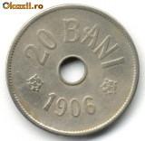 20 BANI 1906, STARE  BUNA SPRE FOARTE BUNA