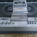 Magnetofon Philips Stereo-Tonbandgerat 4404 + microfon / F98