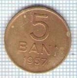 297 Moneda 5 BANI 1957 -starea care se vede -ceva mai buna decat scanarea