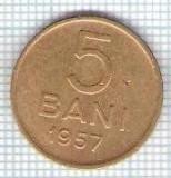 293 Moneda 5 BANI 1957 -starea care se vede -ceva mai buna decat scanarea
