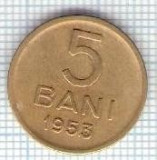 285 Moneda 5 BANI 1953 -starea care se vede -ceva mai buna decat scanarea
