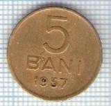 290 Moneda 5 BANI 1957 -starea care se vede -ceva mai buna decat scanarea
