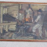 ULEI CARTON SEMNAT - Pictor roman