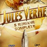 Jules Verne - 5 romane pe un DVD MP3