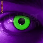 123123Lentile de contact UV ultraviolete  Neon fluorescente -autentice ColorVue