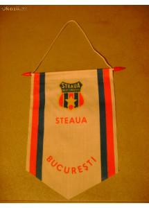 Fanion echipa de fotbal Steaua Bucuresti anii 1980