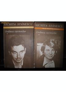 Nichita Stanescu, Ordinea cuvintelor, cu autograf ingrijitor editie