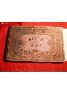 Album  20 fotografii VIENA sepia veche -cca.1880