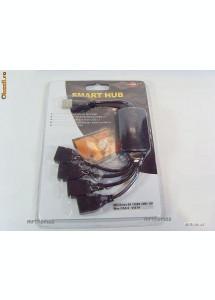 USB 2.0 HUB Splitter Multiplicator tripla cablu 4 porturi pentru laptop sau PC