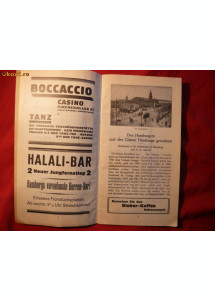 Ghid Turistic Harta - Hansa -Hamburg -1926