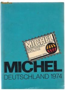 10A (457) catalog  MICHEL-DEDTSCHLAND 1974