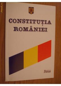 CONSTITUTIA ROMANIEI din 31 Octombrie 2003  Editura Nicora, 2003, 79 p.