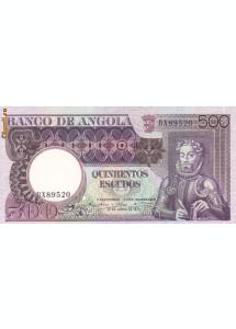 Bancnota Angola 500 Escudos 1973 - P107 UNC