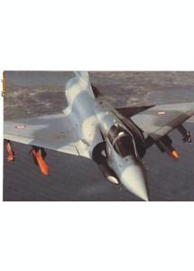 Carte postala ilustrata AVIATIE -  Avion militar supersonic