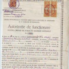 A92 Acte Autorizatie Functionare Cazan Rachiu 5 timbre 100lei
