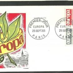 FRANTA 1965 - EUROPA CEPT, FDC ( Z78)
