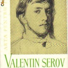 G e lebedeev - valentin serov - Album Arta