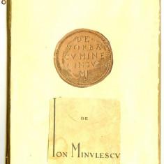 Ion Minulescu - De vorba cu mine insumi - Carte Editie princeps