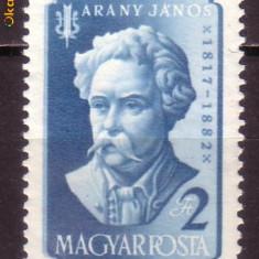 Ungaria D216 75 ani Arany Janos 1957