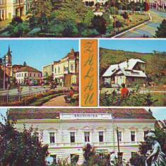 S-1190 ZALAU CIRCULAT - Carte Postala Crisana dupa 1918