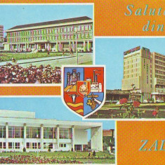 S-1177 ZALAU CIRCULAT - Carte Postala Crisana dupa 1918
