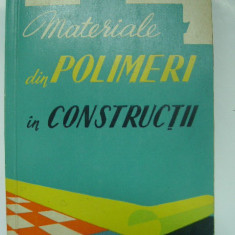 Materiale din polimeri in constructii (1961)