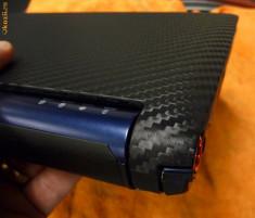 folie carbon 3d cu textura ideala pentru birotica 50x127