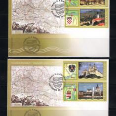 ROMANIA-2010 STEMELE DUNARII I -FDC - LP 1863 - Timbre Romania, Nestampilat