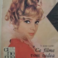 Revista CINEMA - noiembrie - 1969 - Revista culturale