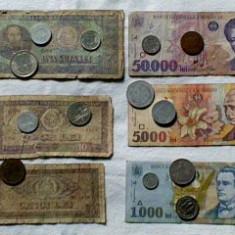 Bani romanesti vechi- Bonus 500 Lei Eclipsa si Monede euro - Bancnota romaneasca