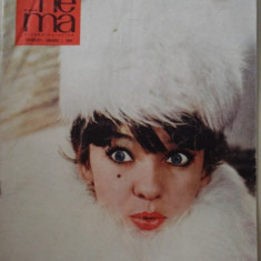 Revista CINEMA - ianuarie - 1966 - Revista culturale