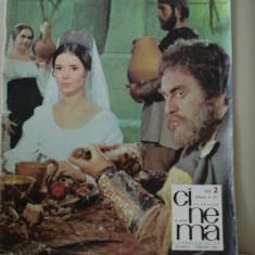 Revista CINEMA - februarie - 1967 - Revista culturale