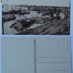 Braila , Portul , inceput de secol 20 , stare excelenta