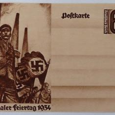 Carte postala nazista de propaganda, 1934