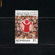 ROMANIA-2010  SALVATI COPIII - LP 1867