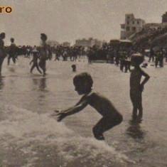 Bnk cp constanta - pe plaja - circulata - Carti Postale Romania dupa 1918