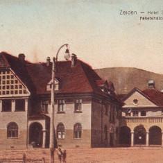 Ok-0300- Romania, Codlea -Zeiden, c.p. necirc. aprox.1910: Hotel Schwarzburg - Carte Postala Transilvania 1904-1918, Necirculata, Fotografie