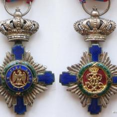 Steaua Romaniei - Model 1- Ofiter - Argint - man. Franta - Ordin