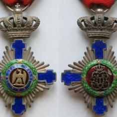 Steaua Romaniei - Model 1- Cavaler - Argint - Kretly - Ordin
