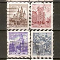 Timbre Austria 1958-60 Lot serie st. - Timbre straine