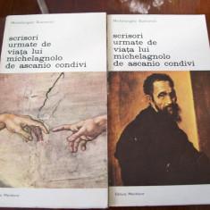 Scrisori urmate de viata lui Michelagnolo de Ascanio Condivi