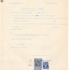08 Document vechi fiscalizat -Braila-Chitanta-1932-Abramovici...