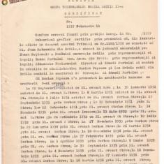 34 Document vechi fiscalizat -1939 -Braila -Certificat