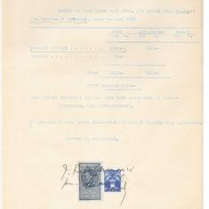 13 Document vechi fiscalizat -Braila-Chitanta-1932-Abramovici...
