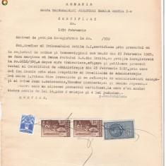 36 Document vechi fiscalizat -1939 -Braila -Certificat, Documente